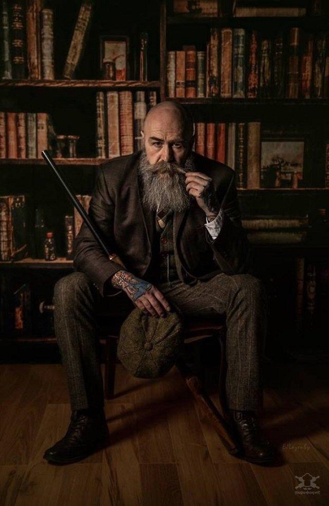 Пип Джентльмен - мужчина из Англии, который стал моделью