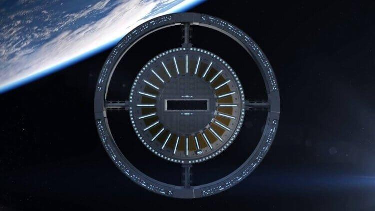 Американцы показали, как будет выглядеть первый в мире космический отель-7 фото-