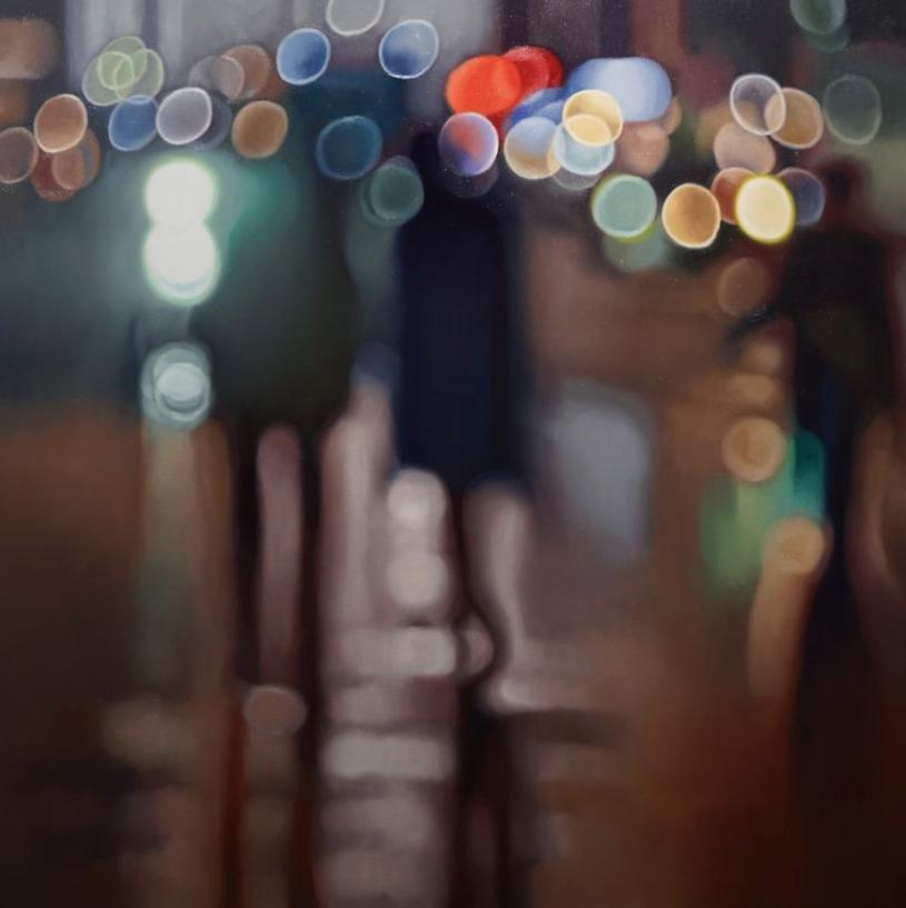 Фотограф написал несколько картин, которые описывают, что видят люди с плохим зрением без очков Интересное