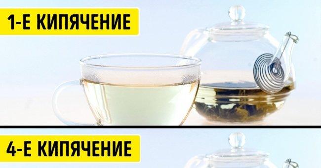 3 мифа о вредности повторного кипячения воды, которые мы готовы разрушить в пух и прах Интересное