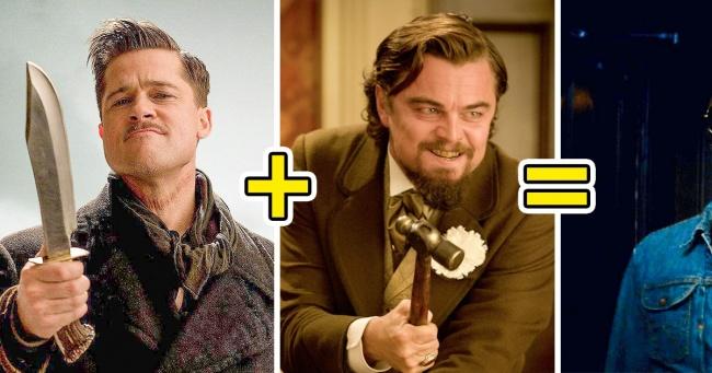 7 причин, по которым люди бегут в кино, чтобы увидеть Брэда Питта и Леонардо Ди Каприо Интересное