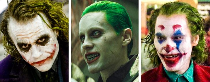 Посмотрите на актеров, которые сыграли одну и ту же роль. У кого получилось лучше? Интересное