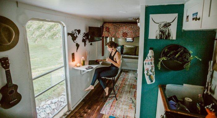 Дом мечты из старого грузовика