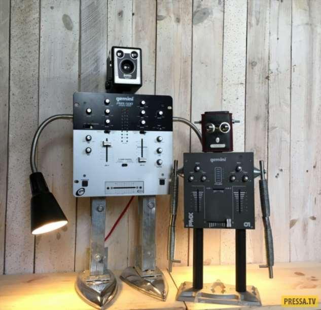 Роботы среди нас  Интересное
