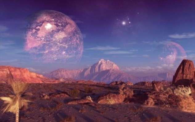Как могут выглядеть экзопланеты, вращающиеся вокруг холодных звезд? (4 фото)