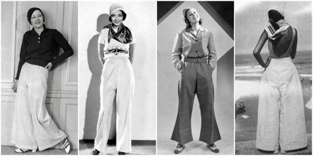 Причуды моды: Женские брюки в 1930-х годах