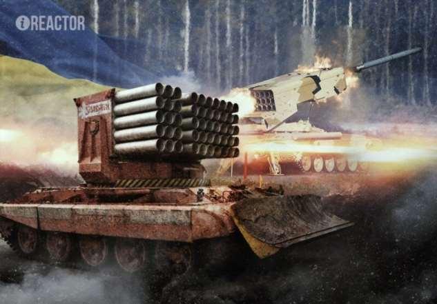 Брат ТОС «Буратино»: пожарный танк «Импульс-2М» (10 фото + 1 видео)