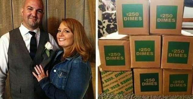 Американка отомстила мужу-изменнику с помощью денег (7 фото)