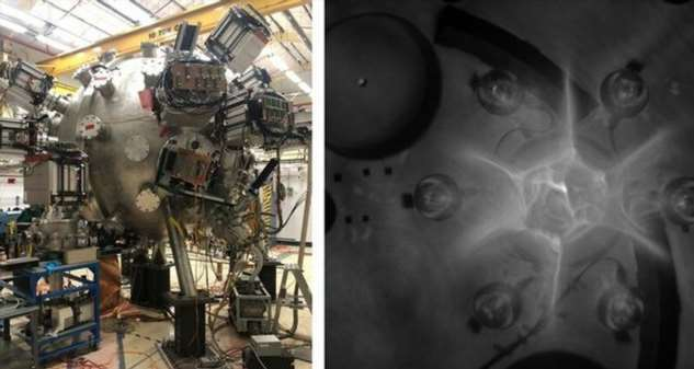 Ядерный реактор с плазменными пушками: будущее ядерной энергетики (1 фото + 1 видео)