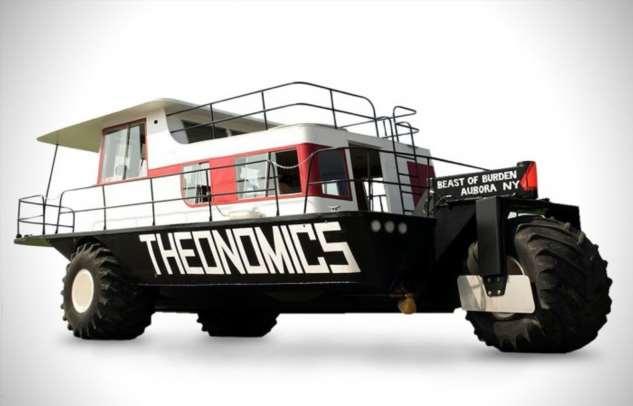 Лимузин-самолет, плавучий дом на колесах и другие необычные модификации транспортных средств