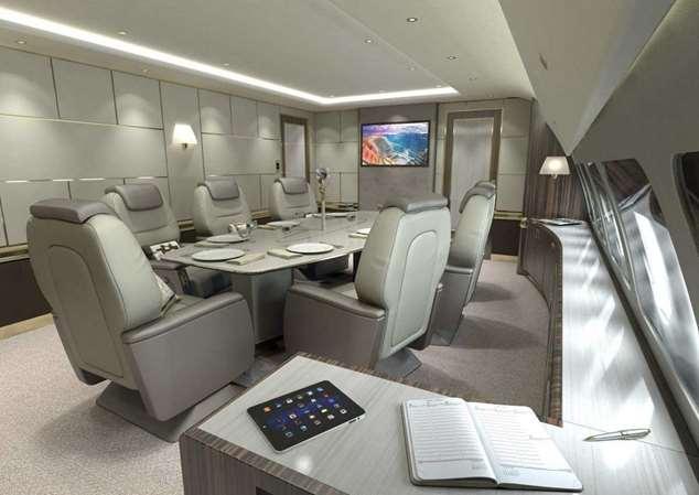 Внутри пяти самых роскошных частных самолетов Интересное