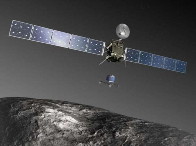 Можно ли поймать комету? (2 фото)