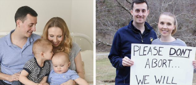 Пара из Вирджинии предлагает выход женщинам, думающим об аборте (4 фото)