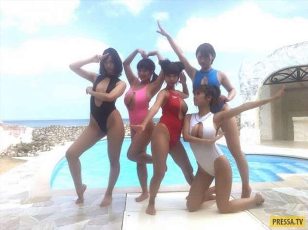 Креативные купальники из Японии  Интересное,девушки