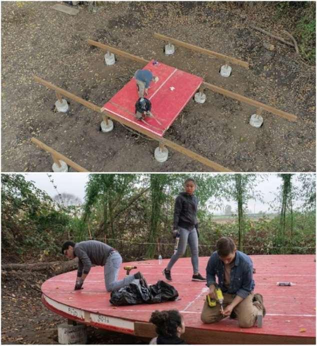 Молодожены обзавелись семейным гнездышком и сами построили настоящую …юрту Интересное