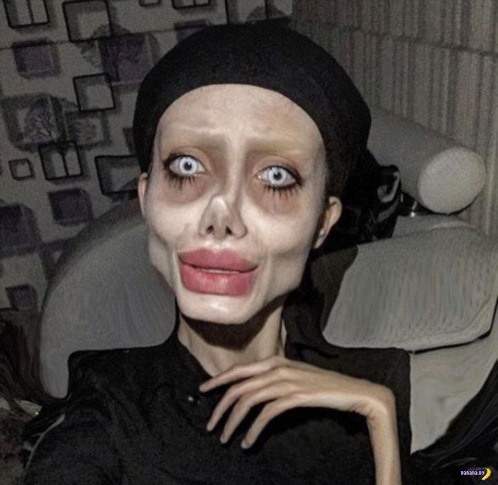 В Иране арестовали двойника Анджелины Джоли Интересное