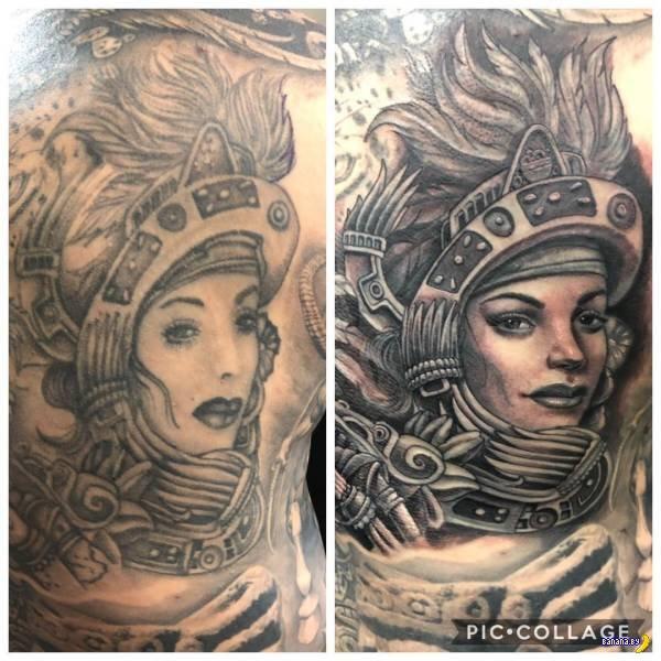 Татуировки на зависть - 126 - Перебитое!