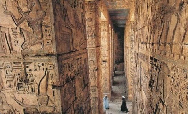 Археологи спустились в скрытую комнату в пирамиде Хеопса Интересное