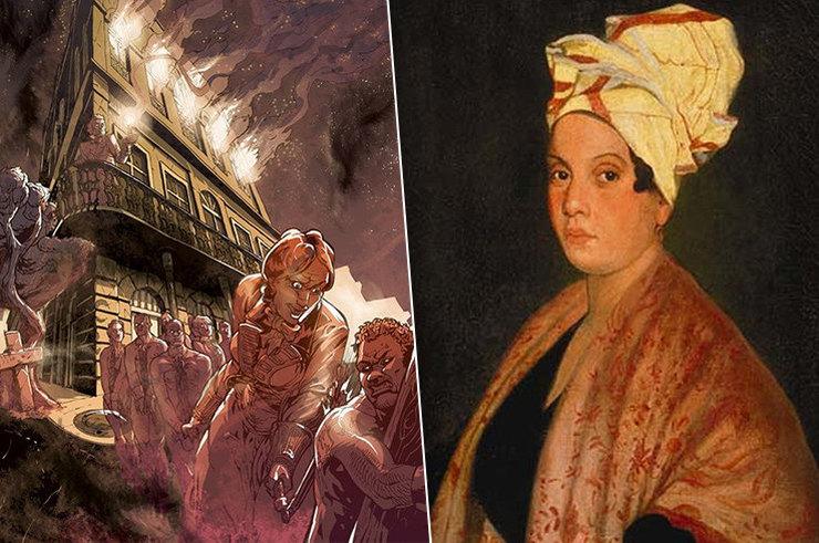 История кровожадной Мадам Лалори Интересное