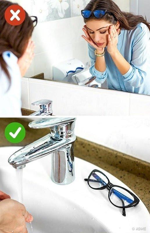 Лайфхаки для тех, кто носит очки
