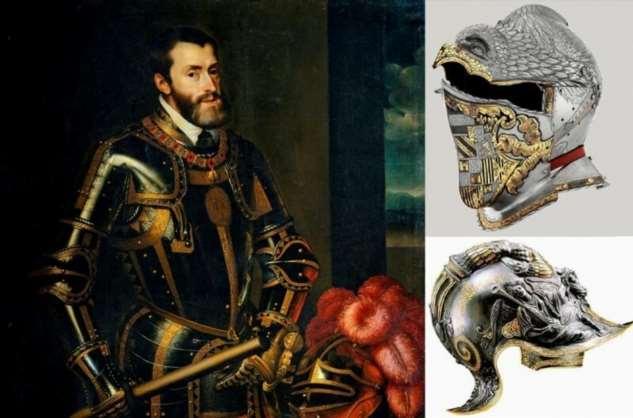 Рыцарский доспех Европейских императоров и королей  Интересное