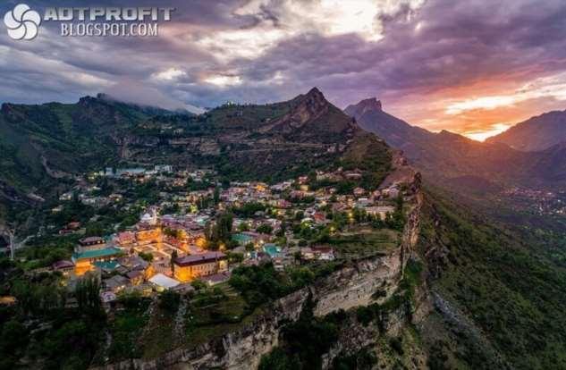 Гуниб — село в Дагестане  Интересное