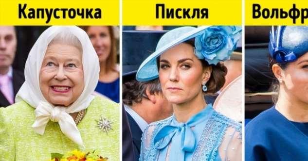Как называют друг друга королевские особы, когда их не сдерживает этикет