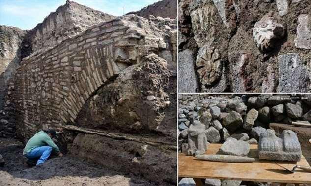 Под улицами Мехико нашли секретный туннель Монтесумы