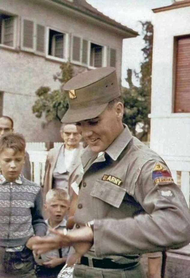 Король в армии: исторические фото  Интересное