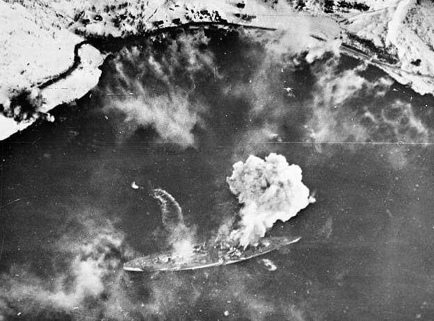 75 лет назад англичане победили «гитлеровское морское чудовище»  Интересное