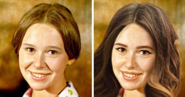 Как выглядели бы советские звезды, если бы их молодость пришлась на наши дни Интересное
