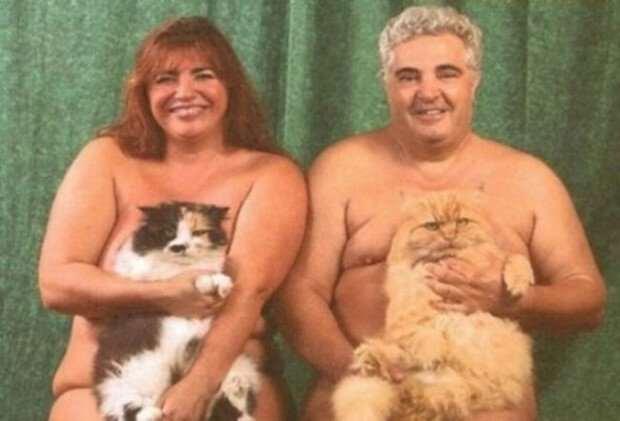 Должно быть, это любовь: фотографии смешных и странных парочек  Интересное