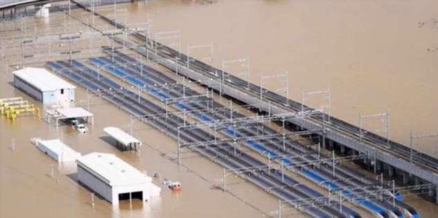 Затопленные скоростные поезда  Интересное