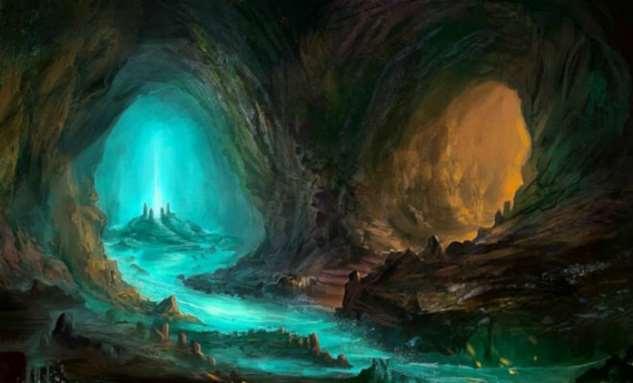 Подземный мир Антарктиды: ледник обнажил вход в подледные пещеры