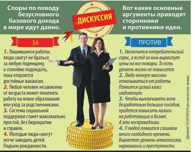 Победит ли Россия бедность, если людям раздадут деньги просто так  Интересное