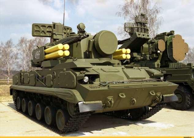 ЗРПК «Тунгуска» стала более грозным оружием после установки нового прицела  Интересное