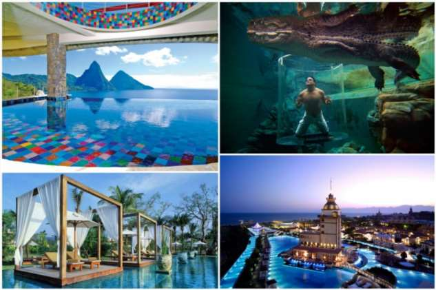 15 фантастических бассейнов, в которых стоит поплавать хотя бы раз в жизни
