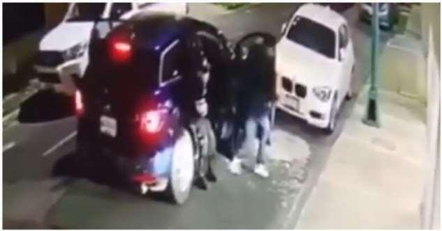 Грабители ошиблись с выбором жертвы и были вынуждены спасаться бегством