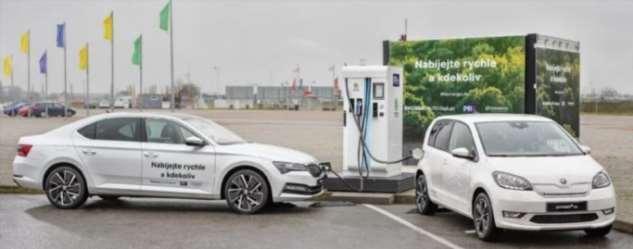 Чехи уверяют, что придумали революционный способ зарядки электромобиля  Интересное
