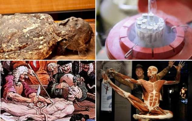 10 ужасных вещей, которые случались с человеческим телом после смерти