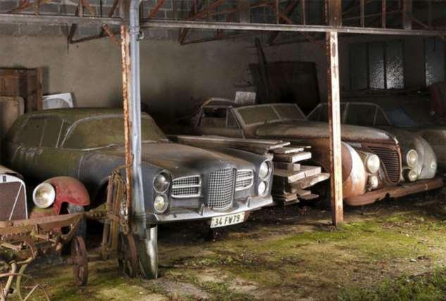 60 ржавеющих в сарае автомобилей стоят больше миллиарда рублей Интересное