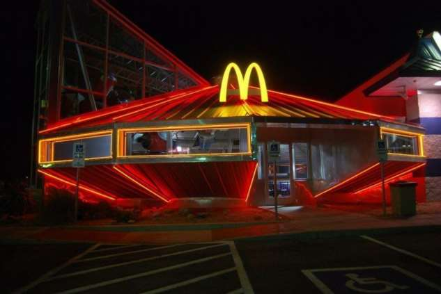 Макдональдс в Розуэлл  США