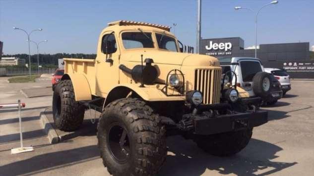 «Лесоруб» — уникальный вездеход с американским V8, собранный на шасси ГАЗ-66 (9 фото + 3 видео) грузовика, «Лесоруб», шасси, мастерской, ГАЗ66, армейского, коробка, раздаточная, «автомат», примерно, мощностью, расчётной, мотор, бензиновый, эффектный, доработанный, других, Motors, General, концерна