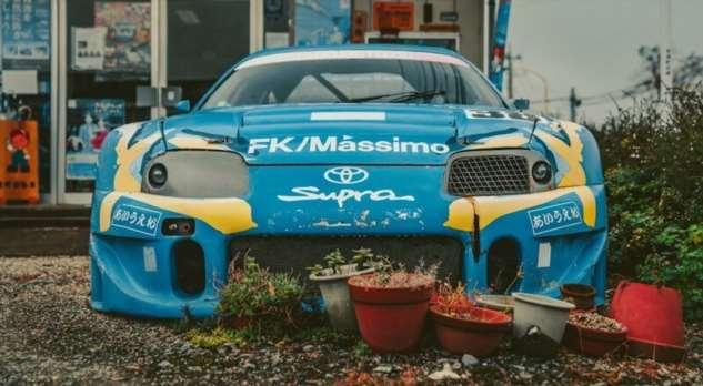 Toyota Supra GT500 JGTC 1999 года …15 лет без движения