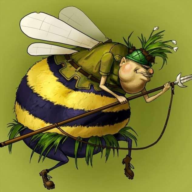 фото карикатурное пчелы унималась