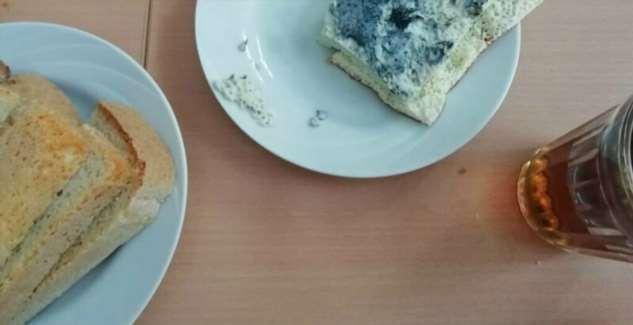 Омских школьников кормят синим омлетом