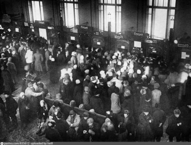 Как выживали безработные в Москве после революции 1917?