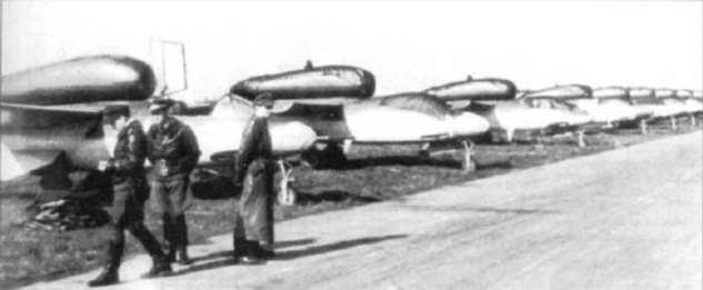 Боевые самолёты. Оружие «Воздушного фольксштурма» и его крах  Интересное