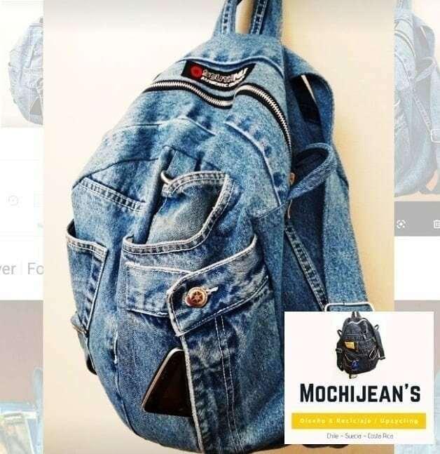 Магия рукоделия: рюкзак из старых джинсов  Интересное