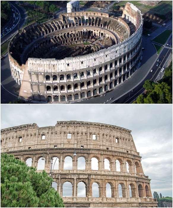 8 впечатляющих стадионов мира: от амфитеатров Древнего Рима до суперсовременных спортивных арен Интересное